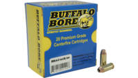 Buffalo bore Ammo 10mm auto heavy 180 Grain jhp 20