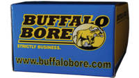 Buffalo Bore Ammo 9mm+P Makarov Hard Cast Flat Nos