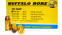 Buffalo bore Ammo . 45 Gaugep 185 Grain jhp 20 Rou