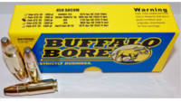 Buffalo Bore Ammo 458 SOCOM 350 Grain Jacketed Fla