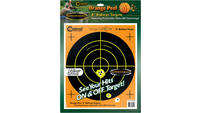 Caldwell Orange Peel Targets Bullseye 8in 5-Pack [