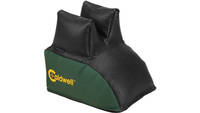 Past DeadShot Rear Shooting Bag Black Leather Top/