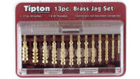 Past Cleaning Supplies 12-Piece Brass Jag Set Bras