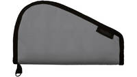 Bulldog Cases Pistol Rug Fits Small Gun Metal Gray