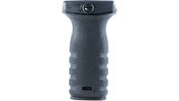 Mission First React Short Vertical Grip Polymer Bl