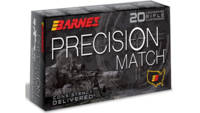 Barnes Ammo Precision Match 260 Remington 140 Grai