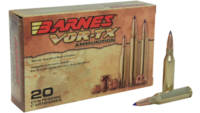 Barnes Ammo Vor-Tx 260 Remington 120 Grain TTSX BT