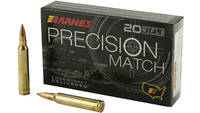 Barnes Ammo Precision Match 300 Win Mag 220 Grain