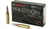 Barnes Precision Match 338 Lapua 300 Grain Open Ti