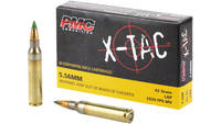 PMC Ammo X-Tac 5.56x45mm (5.56 NATO) LAP 62 Grain