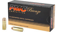 PMC Ammo Bronze 10mm Truncated Cone FMJ 200 Grain
