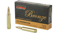 Pmc Ammo .223 remington 55 Grain bt fmj 20 Rounds