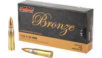 PMC Ammo Bronze AK-47 7.62x39mm FMJ 123 Grain 20 R