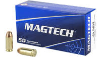 Magtech 40 S&W 180 Grain FMJFP 50 Rounds [40B]