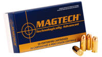 Magtech Ammo Sport Shooting 9mm JSP 124 Grain 50 R