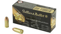 Sellier & Bellot Ammo 9mm JHP 115 Grain 50 Rou