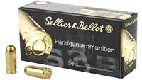 Sellier & Bellot 9mm Makarov 95 Grain FMJ 50 R