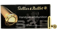 Sellier & Bellot Ammo 9mm 124 Grain FMJ 50 Rou