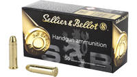 Sellier & Bellot Ammo 38 Special 158 Grain FMJ