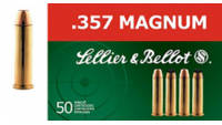 Sellier & Bellot AB357L 357 Magnum 158 Lead Fl