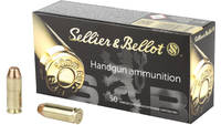 S&b Ammo 10mm 180 Grain fmj 50 Rounds [SB10A]