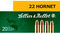 S&b Ammo .222 remington 50 Grain jsp 20 Rounds