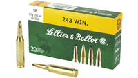 Magtech Ammo Hunting Rifle 243 Win. 100 Grain 20 R