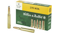 Sellier & Bellot Ammo 270 Winchester 150 Grain SP