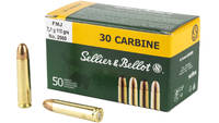 Sellier & Bellot Ammo Training 30 Carbine FMJ