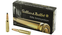 Sellier & Bellot Ammo 308 Winchester SP 180 Gr