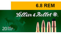Sellier & Bellot Ammo 6.8mm Remington Barnes T