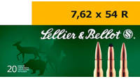 Sellier & Bellot Ammo 7.62x54mm Russian BTHP 1
