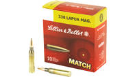 Sellier & Bellot Match 338 Lapua 250 Grain Boa