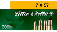 Sellier & Bellot Ammo 7x57mm Rimmed Mauser 173
