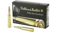 S&b Ammo 6.5x55 swedish mauser 140 Grain jsp 2