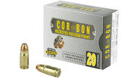 CorBon Ammo Self Defense 357 Sig Sauer JHP 115 Gra