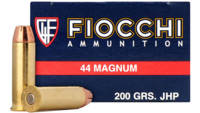 Fiocchi Ammo Shooting Dynamics 44 Magnum 200 Grain