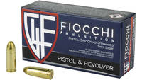 Fiocchi Ammo Shooting Dynamics 9mm 115 Grain FMJ 5