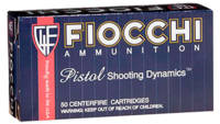 Fiocchi Ammo Shooting Dynamics 9x21mm 123 Grain FM