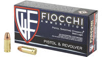 Fiocchi Ammo Shooting Dynamics 9mm 158 Grain FMJ 5