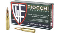 Fiocchi Ammo Shooting Dynamics 308 Win FMJ BT 150