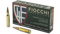 Fiocchi Ammo 7mm-08 Remington 139 Grain SST 20 Rou