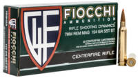 Fiocchi Ammo Extrema Rifle 7mm Magnum 154 Grain SS