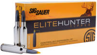 Sig Sauer Ammo Elite Hunter 6.5 Creedmoor 130 Grai