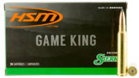 HSM Ammo Game King 338 RUM 215 Grain SBT 20 Rounds