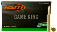 HSM Ammo Game King 7mm Magnum 150 Grain SBT 20 Rou