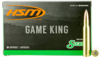 HSM Ammo Game King 7x57mm Mauser 160 Grain SBT 20