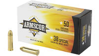 Armscor 380 ACP 158 Grain Full Metal Jacket  50 Ro