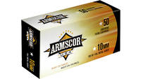 Armscor Ammo 10mm 180 Grain FMJ 50 Rounds [FAC102N