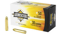 Armscor Ammo 30 Carbine 110 Grain FMJ 50 Rounds [F